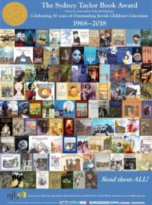 Sydney Taylor Book Award 50th Anniversary poster